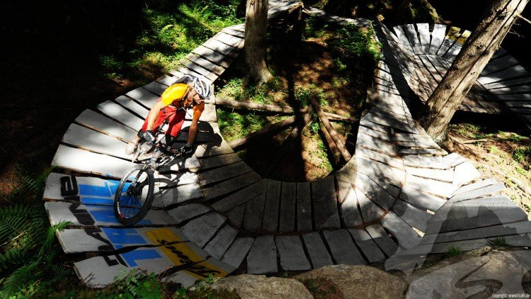 Flims Laax Falera Trails Der Mountainbike Guide