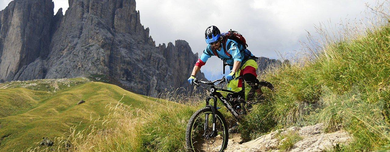 Val di Fassa - Trails! : Der Mountainbike Guide